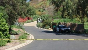 """Authorities were investigating the """"horrific"""" deaths of three people in a hillside home in Santa Barbara County on March 24, 2016. (Credit: Santa Barbara County Sheriff's Office)"""