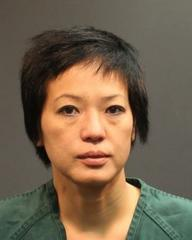 Trang Pham is seen in an undated booking photo provided by the Santa Ana Police Department.