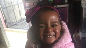 The San Francisco Police Department provided this image of Arianna Fitts, a missing 2-year-old who hasn't been seen since February 2016.