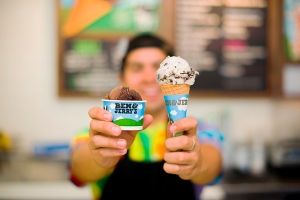 Ben & Jerry's is offering free ice cream from 12 p.m. to 8 p.m. on April 12, 2016. (Credit: Ben & Jerry's)