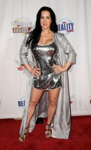 Reality television personality Joanie Laurer, aka Chyna arrives at the Fox Reality Channel Really Awards at the Avalon Hollywood club September 24, 2008 in Hollywood, California. (Credit: Frazer Harrison/Getty Images)