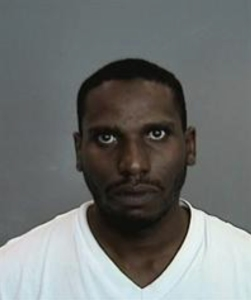 Darnell Clarke is shown in a booking photo released by Anaheim police on April 12, 2016.