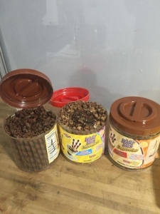 The drugs were allegedly found hidden inside containers filled with candy, authorities said. (Credit: U.S. Customs and Border Protection)