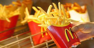 McDonald's french fries are seen in this file photo. (Credit: JOERG KOCH/AFP/Getty Images)