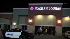 A shooting outside a Buena Park hookah lounge left two injured on April 24, 2016. (Credit: Southern Counties News)