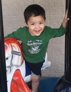 Jacob Vargas is seen in a photo issued with a statewide Amber Alert on April 14, 2016.