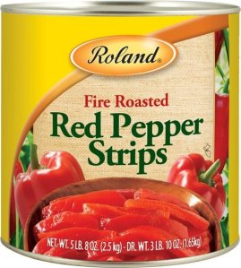 New York-based Roland Foods issued an unrelated recall of fire roasted red pepper strips, also because of possible glass fragments, the company said in a statement. (Credit: From FDA)