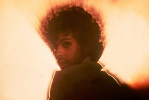"""Prince is pictured here as The Kid in the movie """"Purple Rain,"""" released in 1984."""