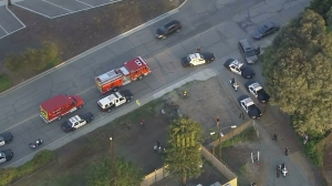Authorities responded to a reported shooting in Torrance on April 12, 2016. (Credit: KTLA)