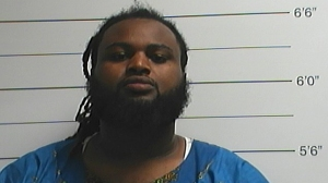 Cardell Hayes, 28, was arrested on April 10, 2016, and booked on suspicion of second-degree murder in the shooting death of former Saints football player Will Smith. (Credit: Orleans Parish Sheriff's Office)