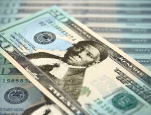 An artist's rendering shows what a $20 bill could look like with Harriet Tubman on it. (Credit: WGN)