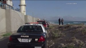 A man's body was found floating in waters near the El Segundo coastline on May 15, 2016. (Credit: Loudlabs)