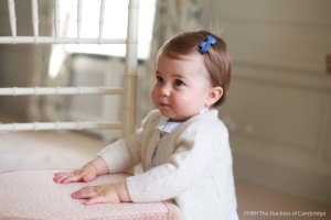 Princess Charlotte is seen in a photo taken by her mother, the Duchess of Cambridge, and released by Kensington Palace on May 1, 2016.