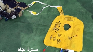 Still pictures show parts and some of the passengers belongings of the missing Egyptair that have been recovered from the Mediterranean sea. (Credit: Egyptian Armed Forces)