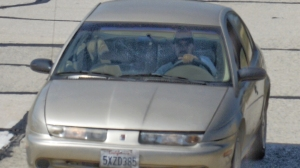 Kidnapping suspect Fernando Castro was seen in a photograph taken by Mike Eliason from the Santa Barbara County Fire Department on May 26, 2016.