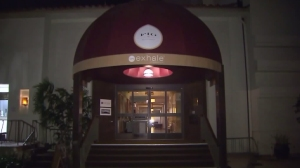 The incident occurred at Fig restaurant, located inside the Fairmont Hotel in Santa Monica. (Credit: KTLA)
