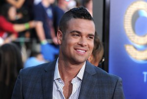 "Actor Mark Salling arrives at the Premiere Of Twentieth Century Fox's ""Glee: The 3D Concert Movie"" at the Regency Village Theater on August 6, 2011 in Westwood. (Credit: Frazer Harrison/Getty Images)"