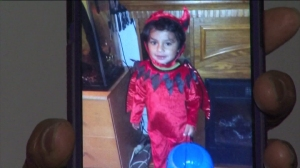 Irene Mesan's 4-year-old grandson is seen in a photo she provided for KTLA.