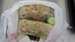 Border officials say a woman was busted for allegedly smuggling more than a pound of meth, disguised as burritos.Officers stopped the 23-year-old Nogales woman this weekend as she crossed the border through a pedestrian gate. (Credit: U.S. Customs and Border Protection)