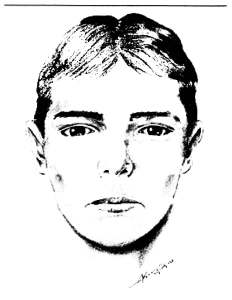 The LAPD on Wednesday released this composite sketch of a man they believe attacked a woman in a Reseda alley.