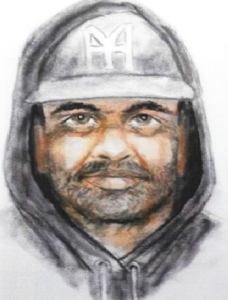 The San Bernardino Sheriff's Department released this image of a man sought in connection with an assault and attempted rape.