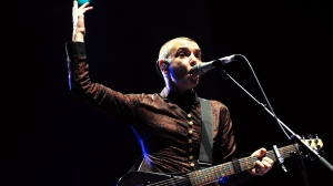 Irish singer Sinead O'Connor performs on August 11, 2013, during the Inter-Celtic Festival of Lorient.  (Credit: FRED TANNEAU/AFP/Getty Images)