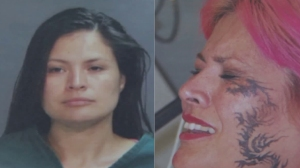 Santa Ana resident Tracy Clapp, 36, is seen in photos provided by the Santa Ana Police Department.