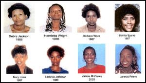 """Here is a look at some of the suspected victims of the """"Grim Sleeper."""" (Credit: LAPD via Los Angeles Times)"""