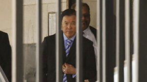 Paul Tanaka, once one of the most powerful law enforcement officials in Los Angeles County, was sentenced Monday to five years in federal prison for interfering with an FBI investigation into jail abuses by sheriff's deputies. (Credit: Al Seib/Los Angeles Times)