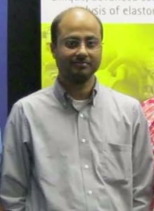 Mainak Sarkar is seen in a photo posted to his Facebook account.
