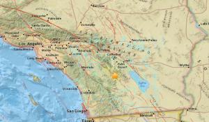 A magnitude-5.2 quake struck near Borrego Springs on June 10, 2016. (Credit: USGS)