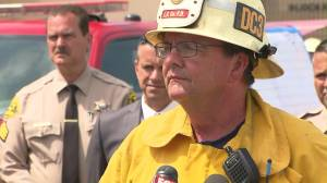 L.A. County fire Deputy Chief John B. Tripp speaks at a news conference in Maywood on June 14, 2016. (Credit: KTLA)
