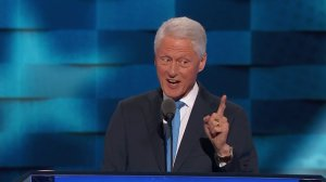 Former President Bill Clinton Speaks at the Democratic National Convention in Philadelphia on July 26, 2016. (Credit: CNN)