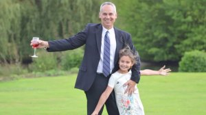 Greg Krentzman and his 9-year-old daughter were injured during the terrorist attack in Nice, France on July 14, 2016. (Credit: Krentzman family)