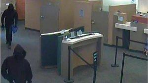 Two masked men carrying guns robbed a Citibank in Glendale on Nov. 5, 2013. (Credit: FBI)