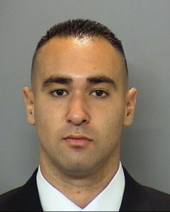 San Diego police Officer Wade Irwin is shown in a photo released by the department on July 29, 2016.