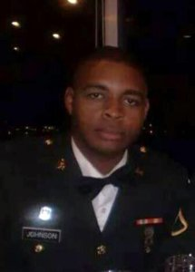 Micah Johnson is seen in a photo from Facebook.