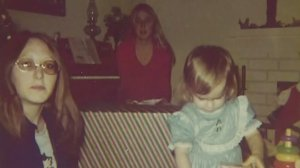 Corinne McIntire (right) was just 4 years old when her mother vanished.