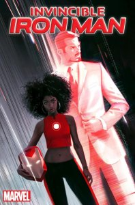 A black female character is taking over the suit from Tony Stark, Time is reporting. (Credit: Marvel)