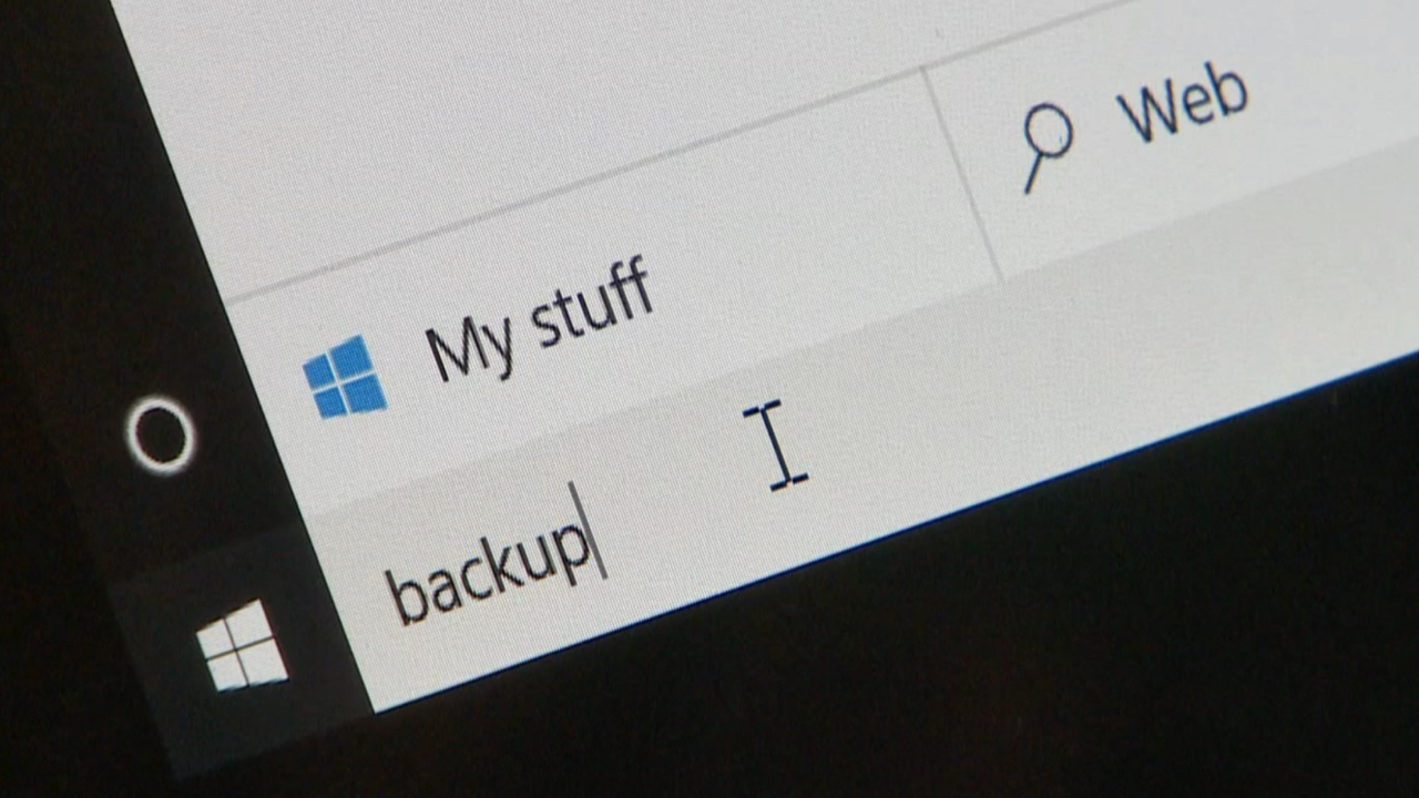Start here to backup your Windows 10 computer