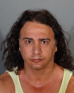 Antonio Nozar, 48, is seen in a booking photo released by the Glendale Police Department on Aug. 17, 2016. (Credit: KTLA)