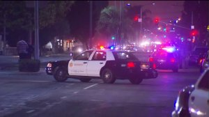 A man was fatally shot by deputies in Compton on Aug. 25, 2016. (Credit: KTLA)