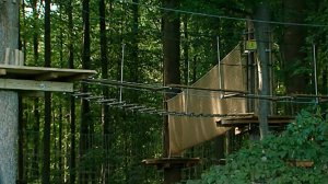 A woman was killed in a zip line accident in Bear, Delaware, on Aug. 24, 2016. (Credit: KYW via CNN)