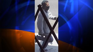 Los Angeles Police officials released this photo of a man they believe shot and killed a woman and injured a man in Harbor City on July 29, 2016.