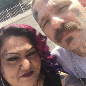 A neighbor at the couple's former Whittier address identified the people in this photo as Mercy Becerra and Johnny Hartley. The photo was posted to Facebook on May 1, 2016.