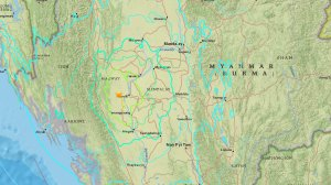Myanmar was shaken by a powerful earthquake on Aug. 24, 2016. (Credit: USGS)
