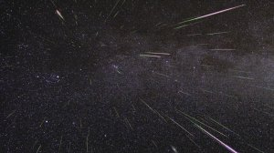An outburst of Perseid meteors lights up the sky in August 2009 in this time-lapse image. Stargazers expect a similar outburst during the Perseid meteor shower, which will be visible overnight on Aug. 11 and 12, 2016.(Credit: NASA/JPL)