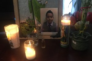 Jesse Romero is shown in a photo posted to a GoFundMe created by a cousin.