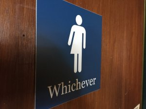 Debate over transgender bathroom access exploded in 2016. (Credit: CNN)