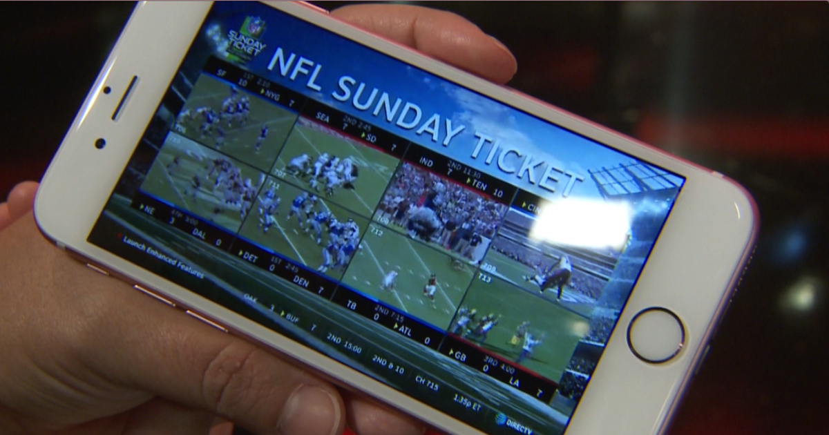 Live Out of Market Streaming on NFL Sunday Ticket